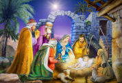 Joyous Night Kid's Jigsaw Puzzle