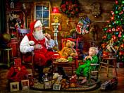Santa's Visit Jigsaw Puzzle