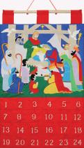 Alleluia Fabric Advent Calendar