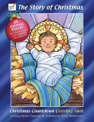 The Story of Christmas Countdown Coloring Book