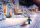 Box Christmas Night Christmas Cards