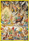 Sleigh Bells Advent Calendar
