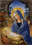 Box Mary with Child<br>Christmas Cards