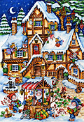 Christmas Market Kid's Jigsaw Puzzle