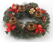 Berry Advent Wreath