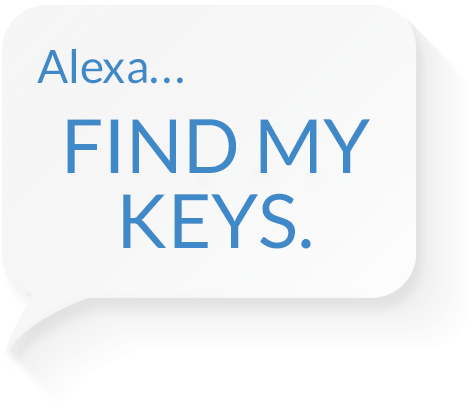 Alexa Find My Keys.