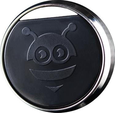 The Finder - Classic Silver - Pebblebee Bluetooth tracker