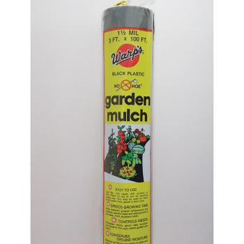 Plastic Garden Mulch (3 X 100)