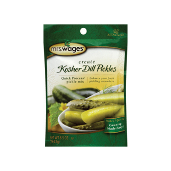 Mrs Wages Kosher Dill Pickle Mix