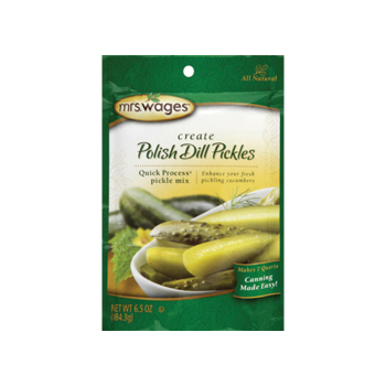 Mrs Wages Polish Dill Pickle Mix