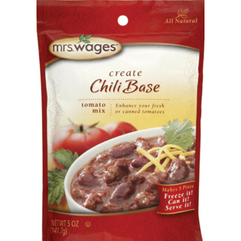 Mrs Wages Chili Tomato Sauce Mix