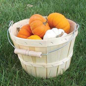 Wooden Basket Half Peck