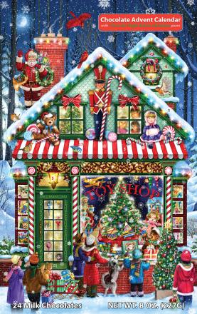 Toy Shop Chocolate Advent Calendar