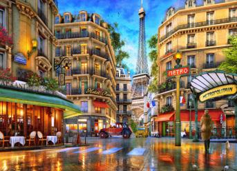Paris Reflections Jigsaw Puzzle