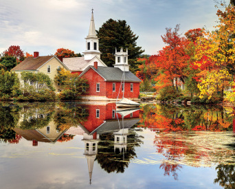Autumn Reflections Jigsaw Puzzle