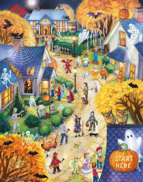 Halloween Town Countdown to Halloween Calendar