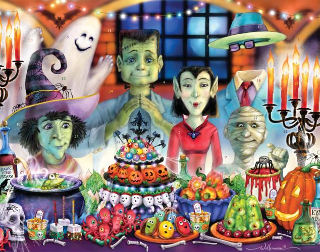 Monster Banquet Countdown to Halloween Calendar