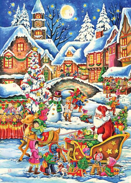 Greeting Card Advent Calendar