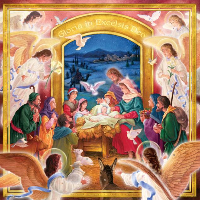 Visitation Jumbo Advent Calendar
