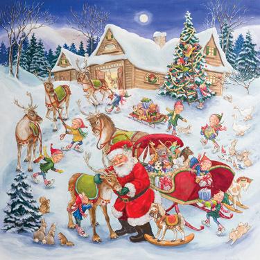 Christmas Eve Jumbo Advent Calendar