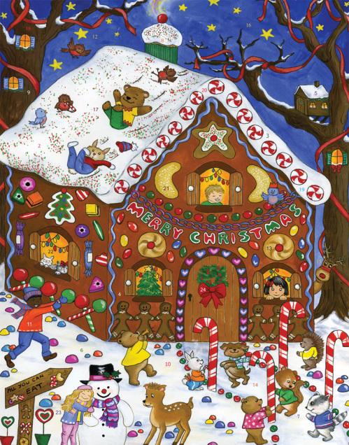 Gingerbread Fun Advent Calendar