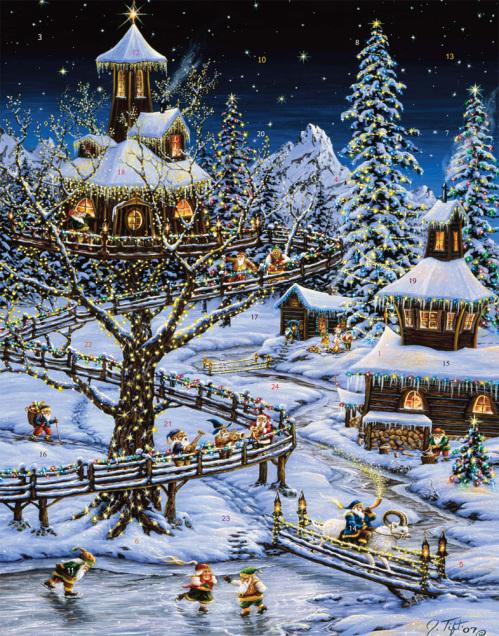 Woodland Holiday Advent Calendar