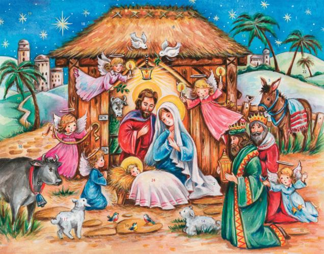 Heavenly Son Advent Calendar