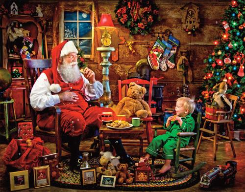 Cookies with Santa Advent Calendar