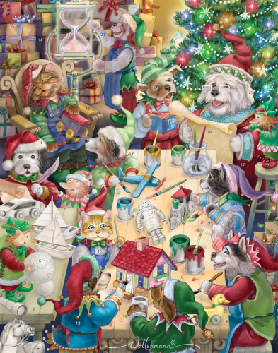 North Pole Pets Advent Calendar