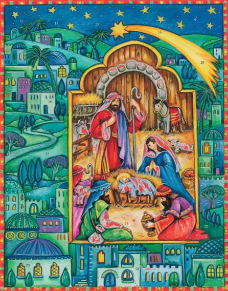 Born in Bethlehem Advent Calendar