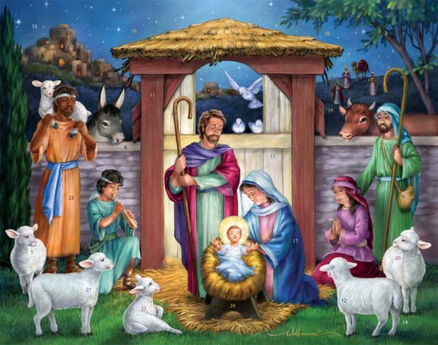 Holy Manger Advent Calendar
