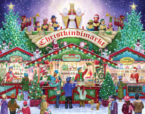 Christkindlmarkt Advent Calendar