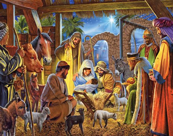 Joyous Nativity Advent Calendar