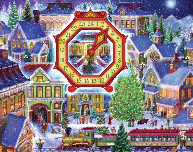 Christmas Village Advent Calendar