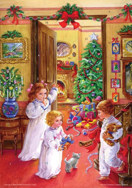 Christmas Morning Advent Calendar