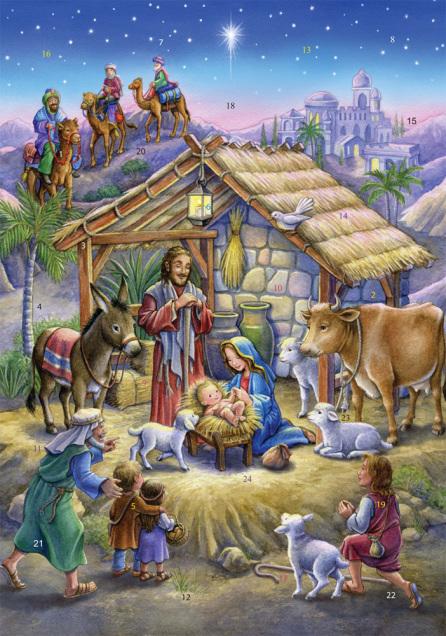 Peaceful Prince Advent Calendar