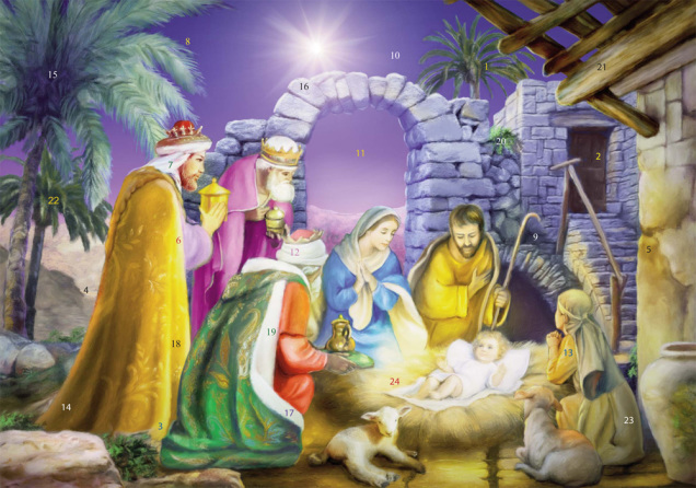 Joyous Night Advent Calendar