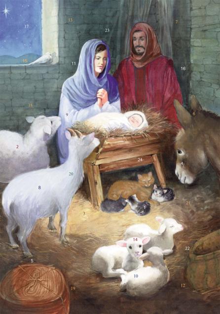 The Christ Child Advent Calendar