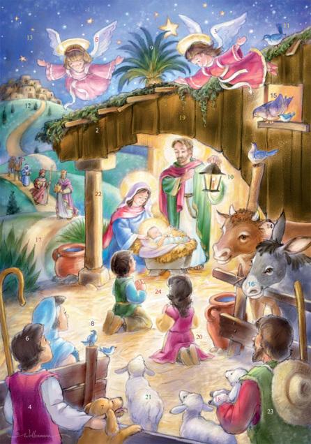 Oh Noche Divina Spanish Advent Calendar