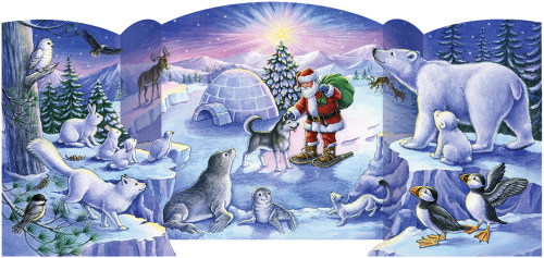 North Pole Friends Advent Calendar