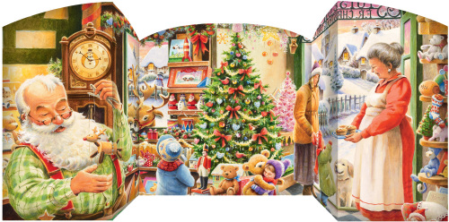 Santa's Shop Advent Calendar