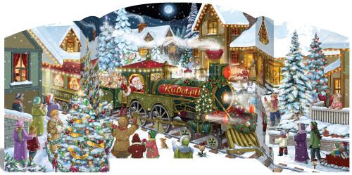 Here Comes Santa Advent Calendar