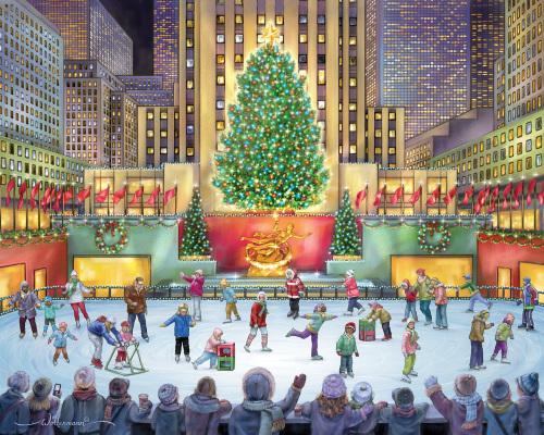 Rockefeller Center Jigsaw Puzzle, 1000 Piece Puzzles