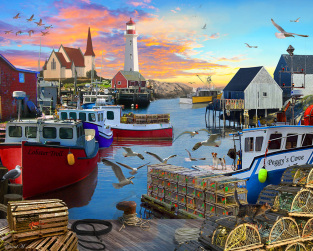 Fishing Cove Jigsaw Puzzle