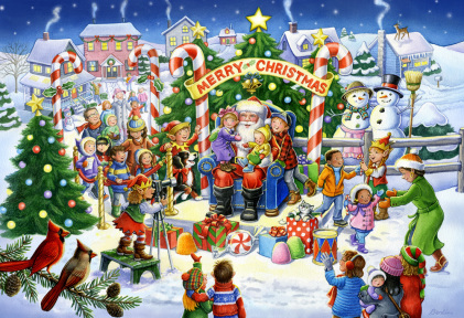 Smile for Santa Jigsaw Puzzle