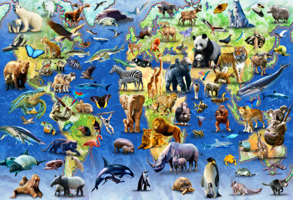 Endangered Species Jigsaw Puzzle