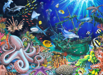 Sunken Treasure Jigsaw Puzzle