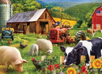 Farm Friends Jigsaw Puzzle