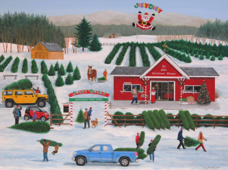 Jolly Dolly Christmas Jigsaw Puzzle
