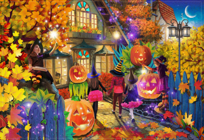 Witching Hour Jigsaw Puzzle